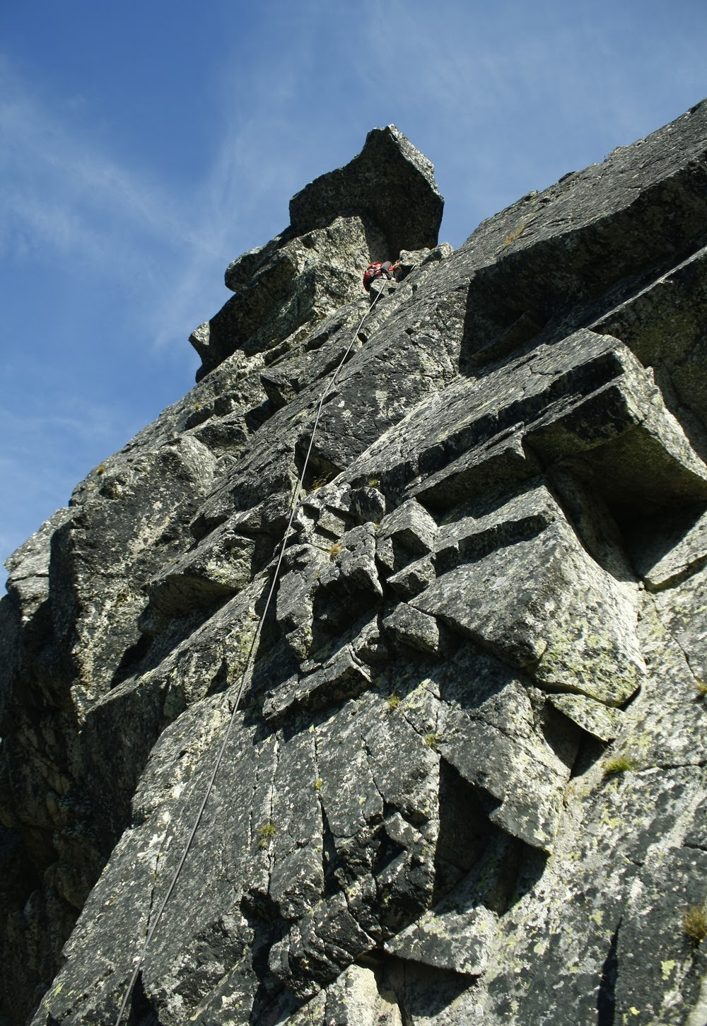 Wierch pod Fajki - wejście
