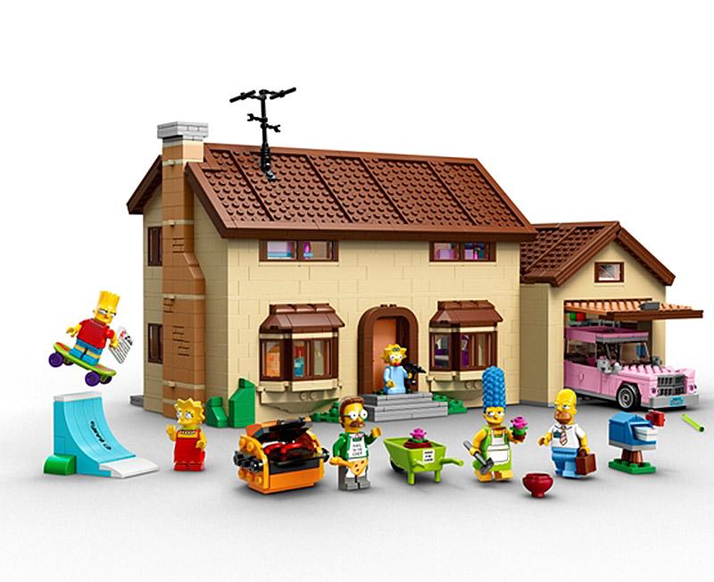 Lego Skateboard Shop