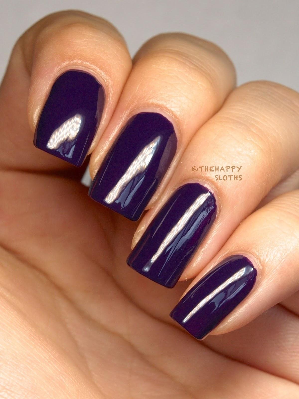 opi coca cola nail polish review swatches a grape affair