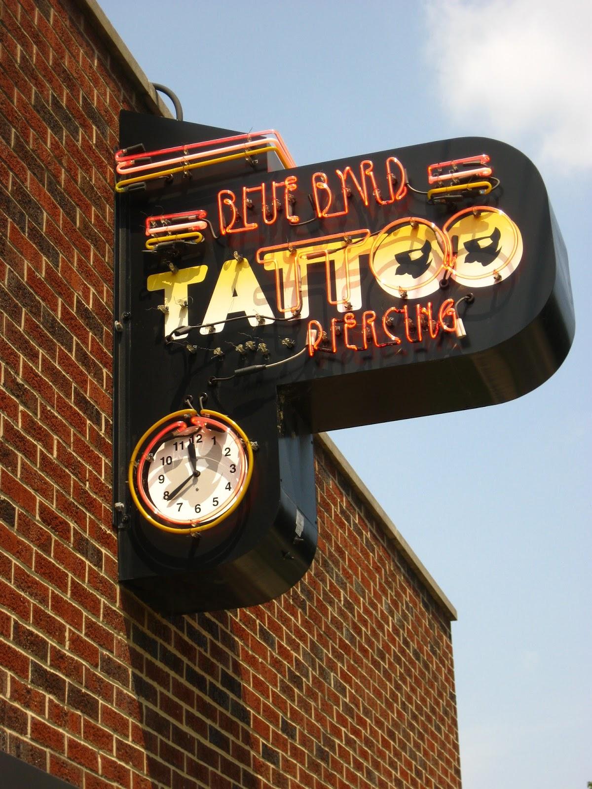 Blue byrd tattoo victoria rose harley for Tattoo shops dayton ohio