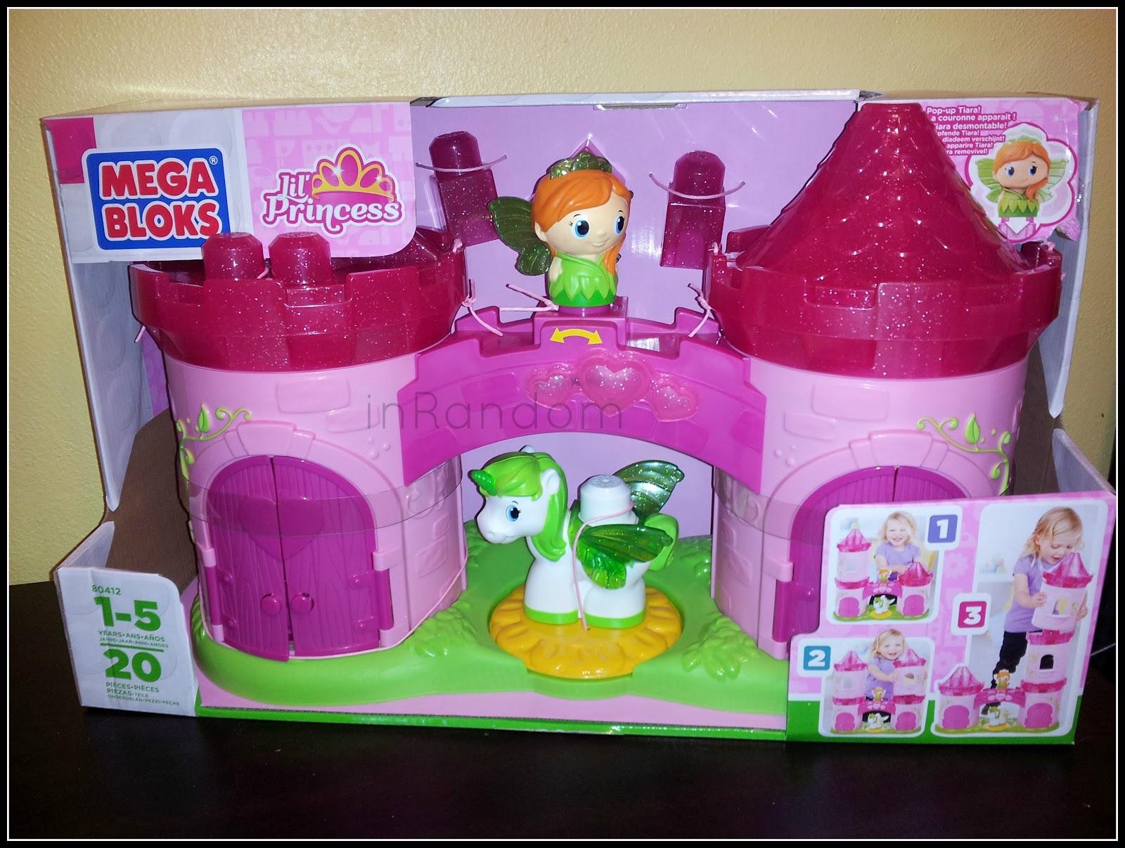 mega bloks princess castle instructions