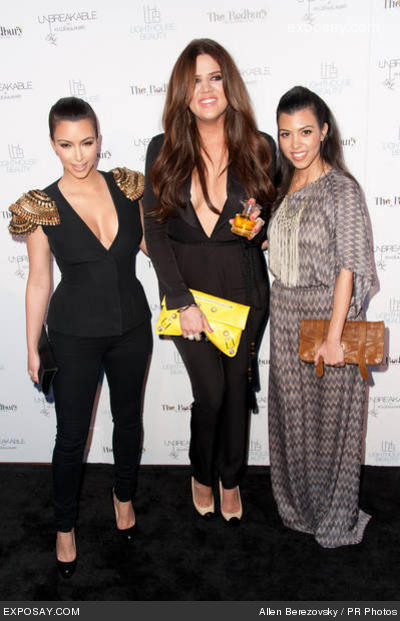 kim kardashian khloe kardashian odom and kourtney kardashian bu1NZ
