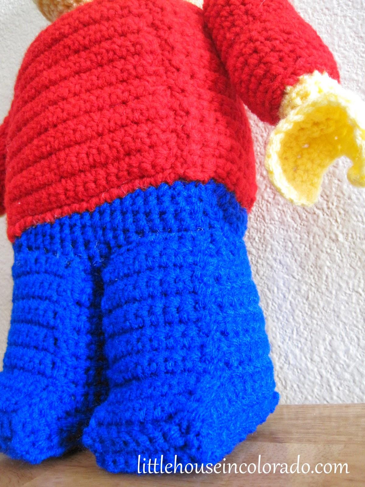 Amigurumi Lego Man : Little House In Colorado: Pattern For Amigurumi Crochet ...