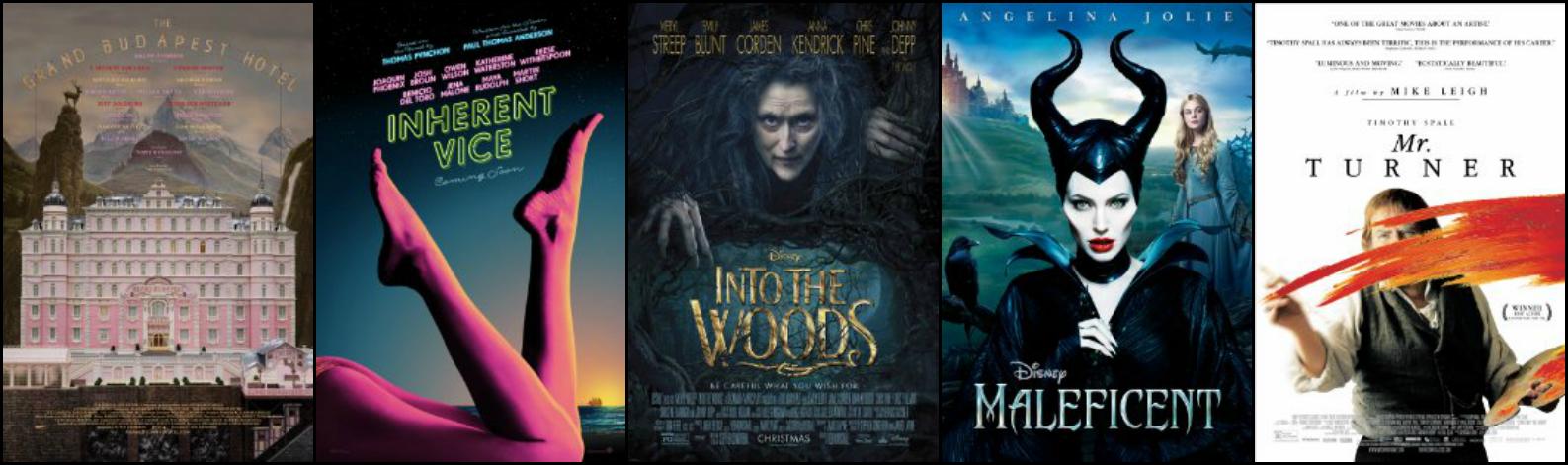 Os indicados ao Oscar 2015 de Melhor Figurino
