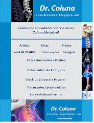 Dr. COLUNA - Tratamentos - Dicas - Informações