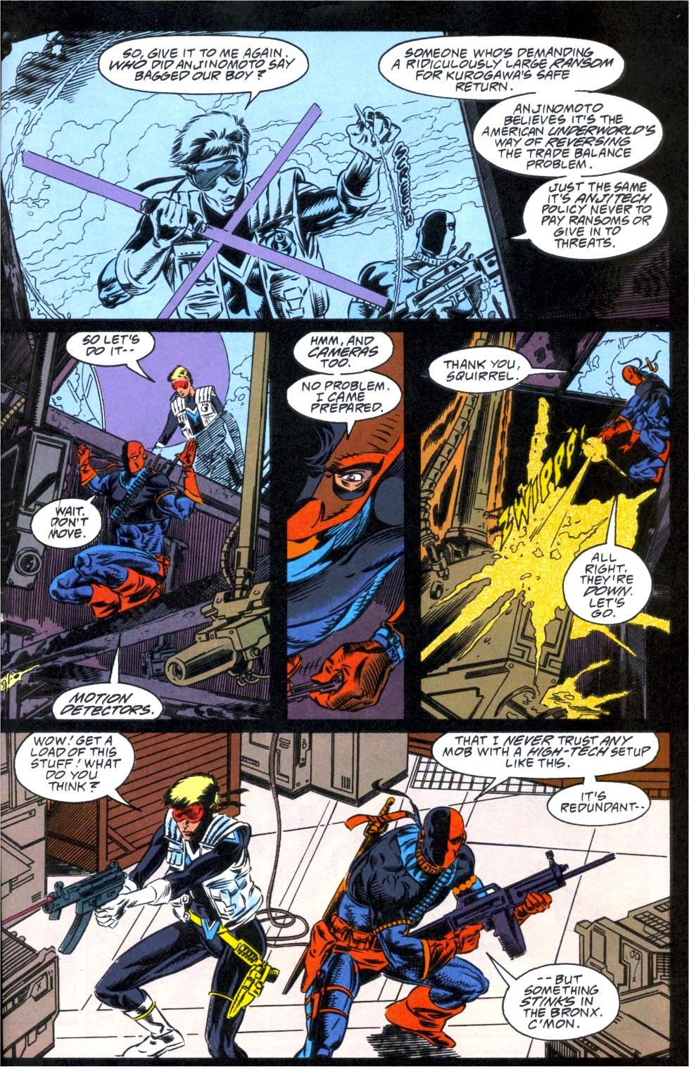 Deathstroke (1991) Annual 1 #1 - English 4