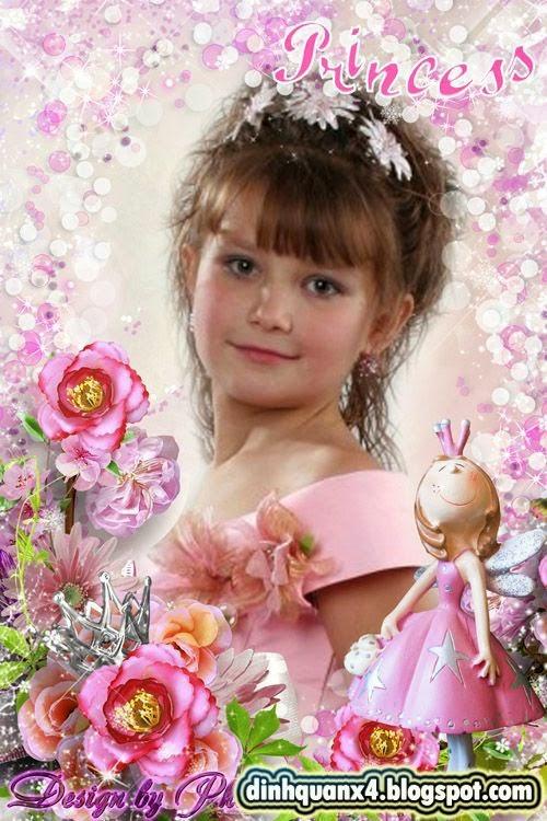 Baby photo frame - Little Princess