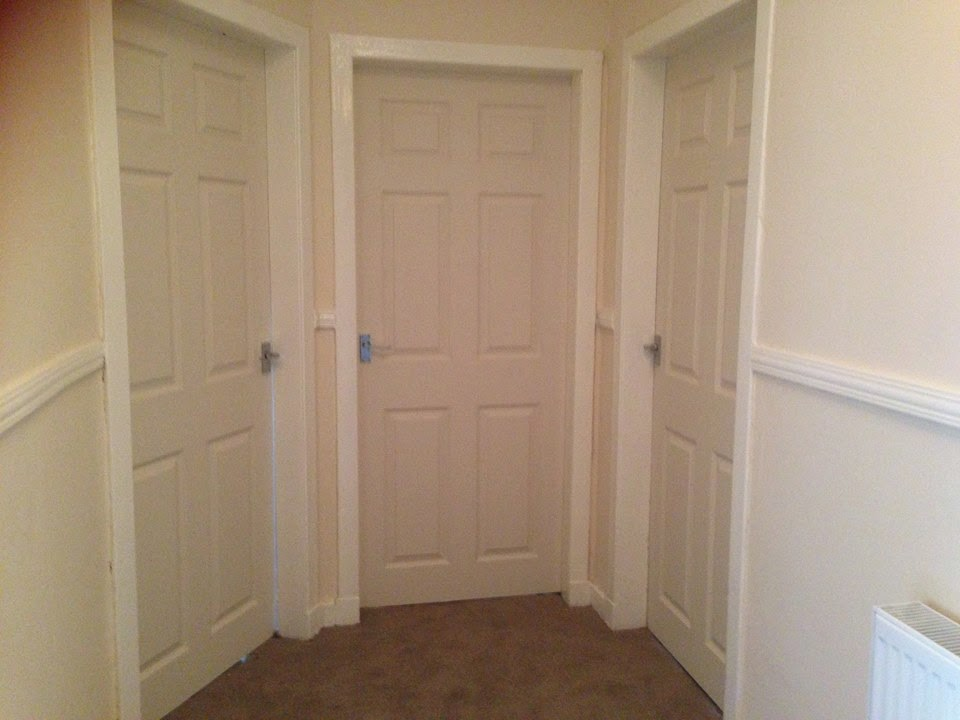 White Primed 6 Panel Interior Doors Supplied And Fitted 5500