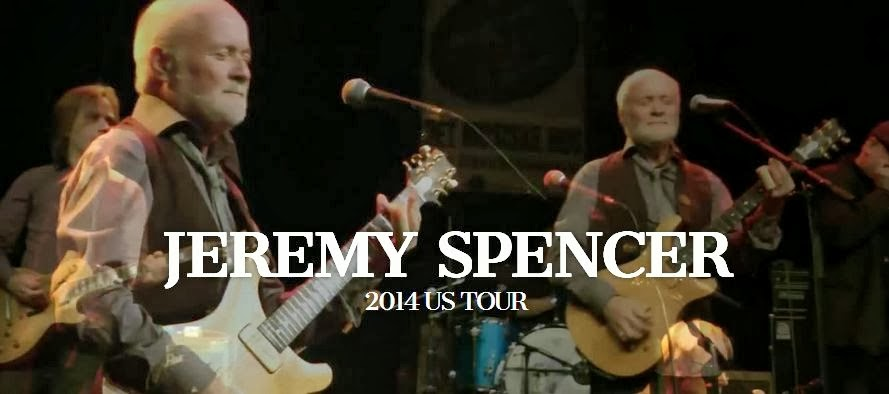 Jeremy Spencer 2014 US Tour