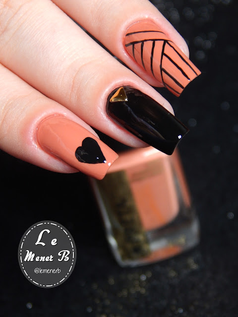 nail art heart