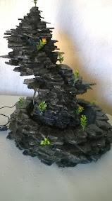 Ref : 17407 - Cascata móvel em pedras naturais