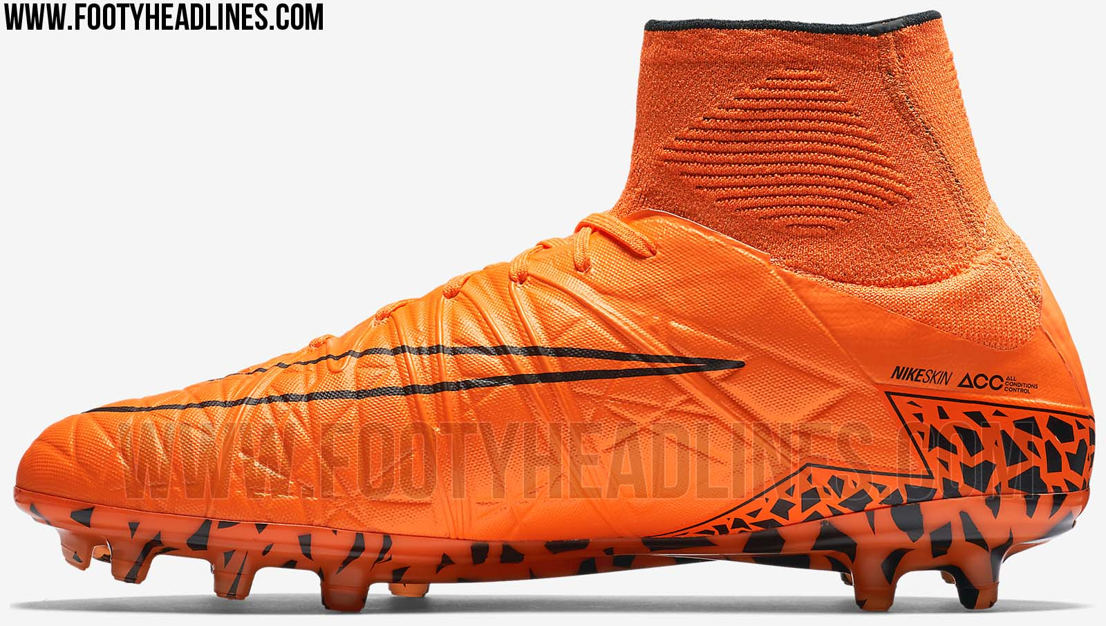 orange nike hypervenom 2 2015 boot released footy headlines. Black Bedroom Furniture Sets. Home Design Ideas
