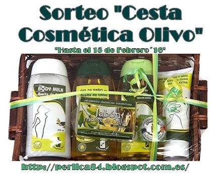 """Sorteo Cesta """"Cosmética Olivo"""""""