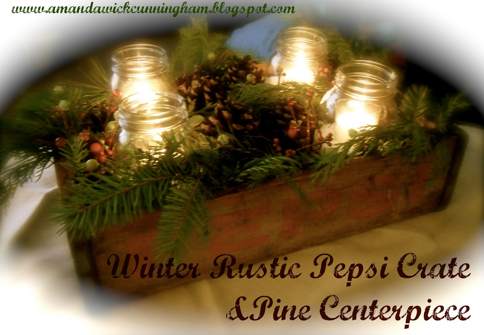 Kaleidoscope Of Colors Winter Rustic Pepsi Crate amp Pine
