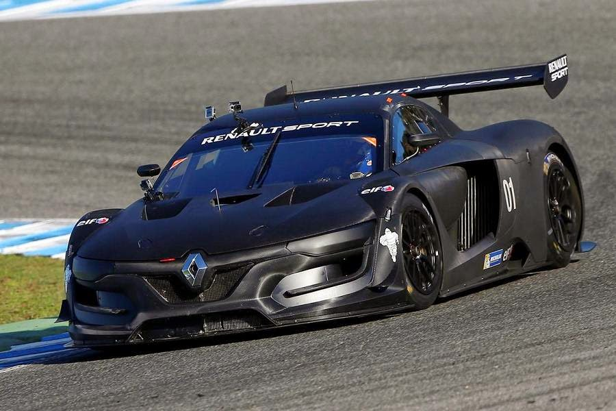 Renault Renaultsport R.S. 01 Prototype 2015 Front Side