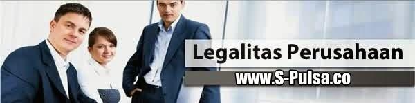Legalitas Perusahaan Server S-Pulsa Blora | Web Pusat www.S-Pulsa.co