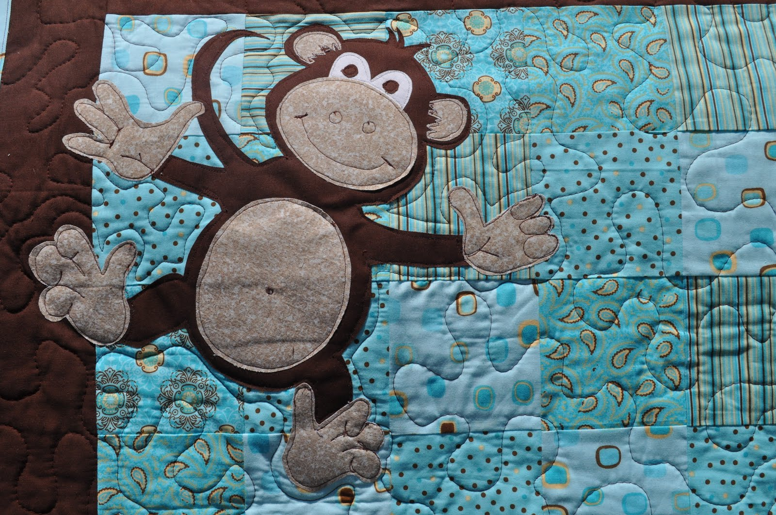 Distant Pickles: Making Monkeys.. And Other Applique d Animals