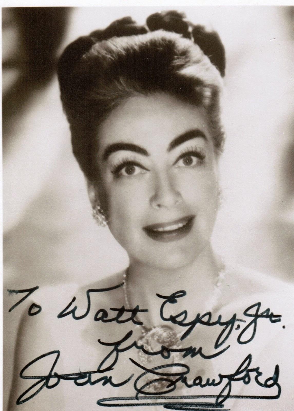 Watt Espy's Autographs