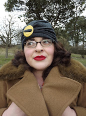 The gorgeous Charly from landgirl 1980 modelling my hats.