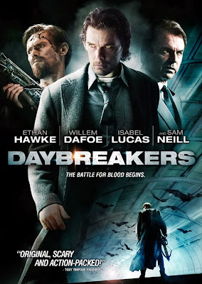 Poster Of Daybreakers (2009) Full Movie Hindi Dubbed Free Download Watch Online At worldfree4u.com