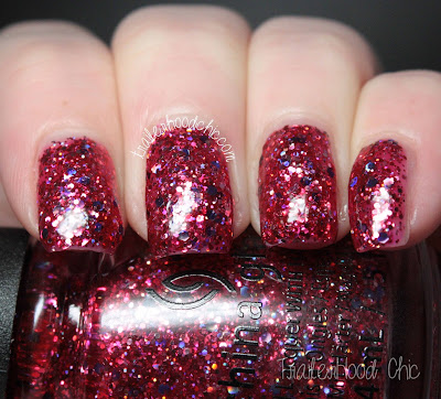 china glaze cheers holiday review swatches ugly sweater party