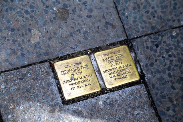 Stolpersteine, stumbling stones, Berlin