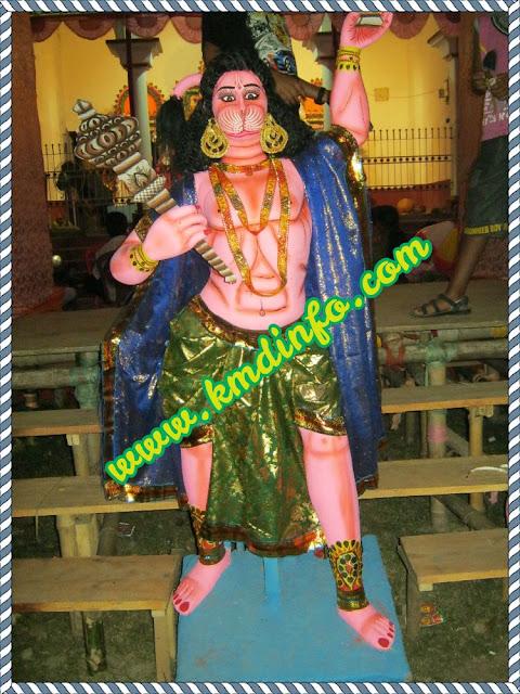 Kushmandi Hospital Para Sarbojanin Durga Puja