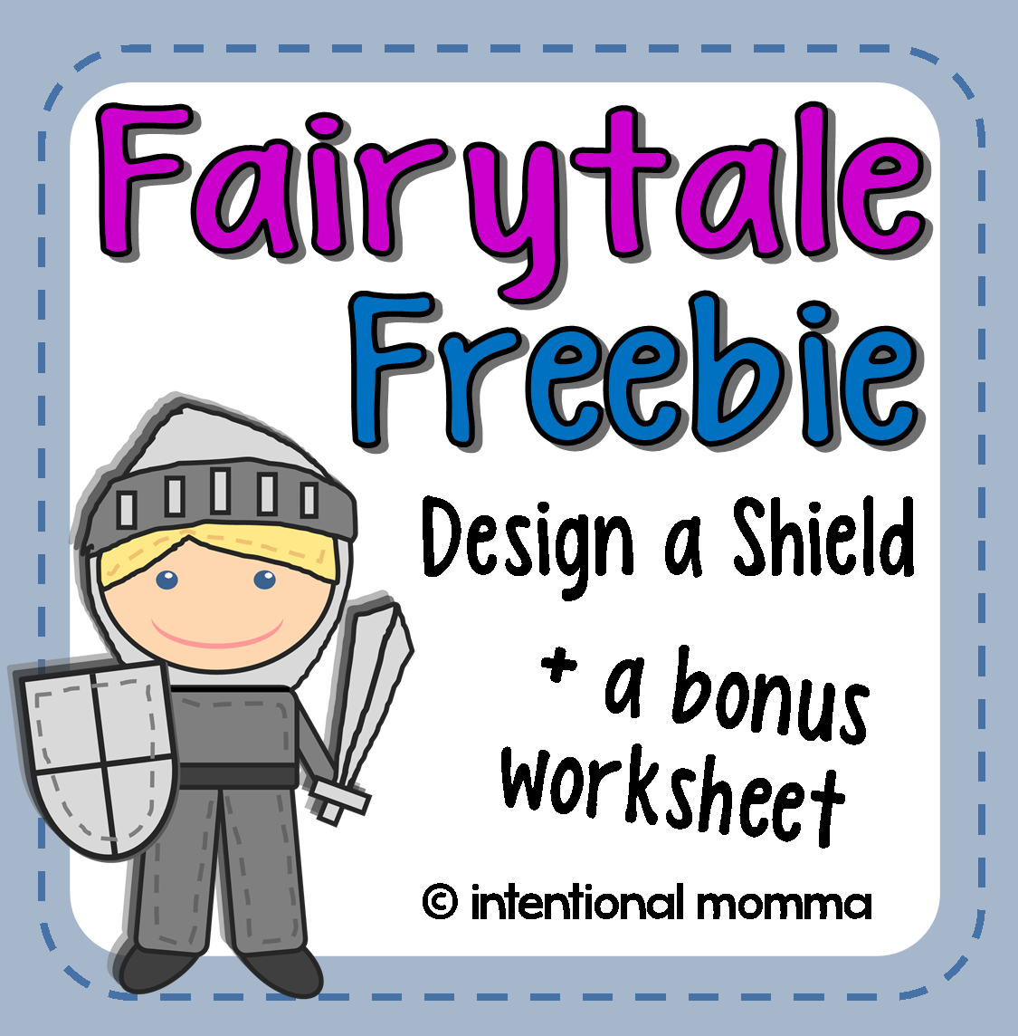 The Intentional Momma – Fairy Tale Worksheets