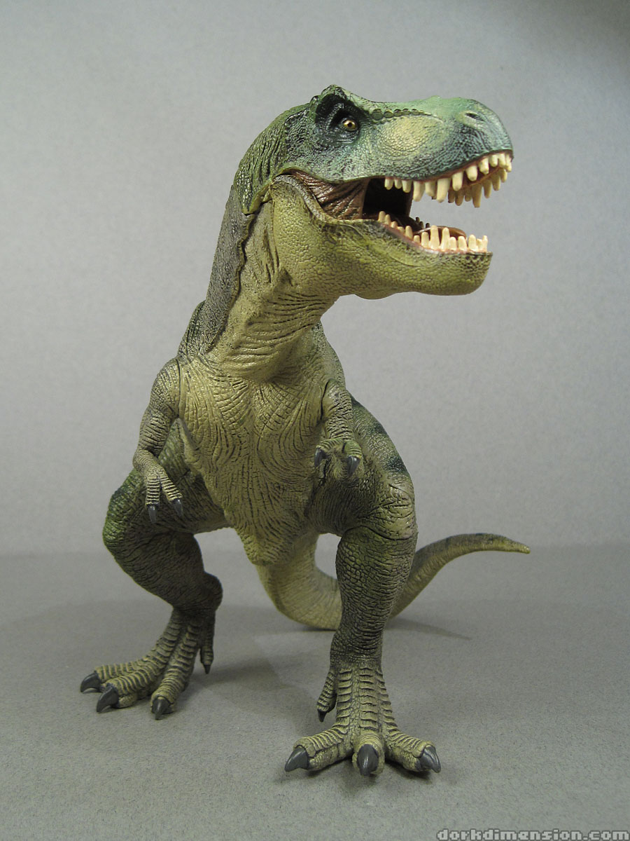 T Rex Dinosaur Toy : Dork dimension toy review papo tyrannosaurus rex