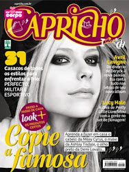Capricho 1122-Avril Lavigne-Duas Capas!!!!!!!!!!