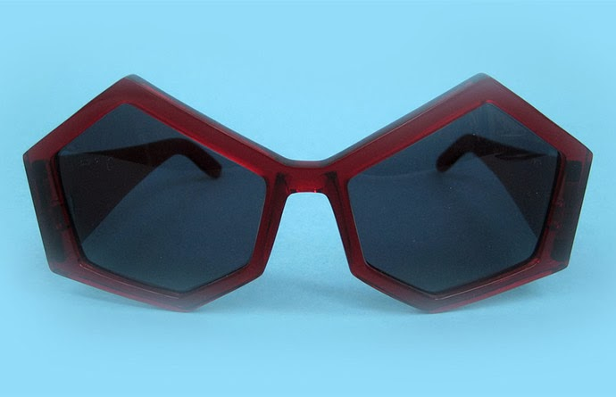 House of Flora: Red Hex Spex