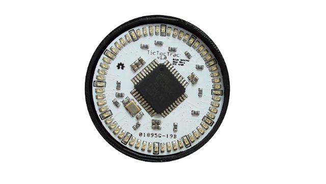 Fancy Watch made from SMD LED and other components