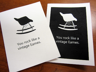 Eames Rocker Card