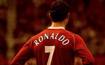 Cristiano Ronaldo Back Number 7 HD Desktop Wallpaper