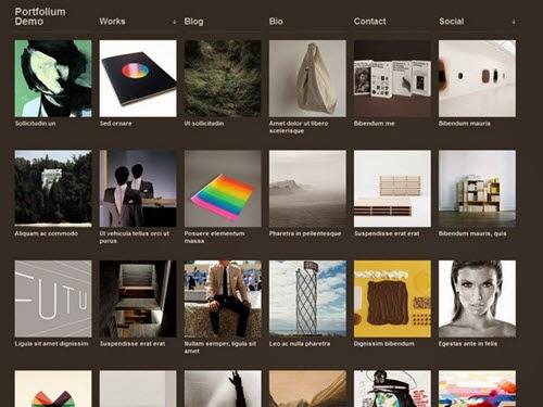 Portfolium Free Photography WordPress Theme