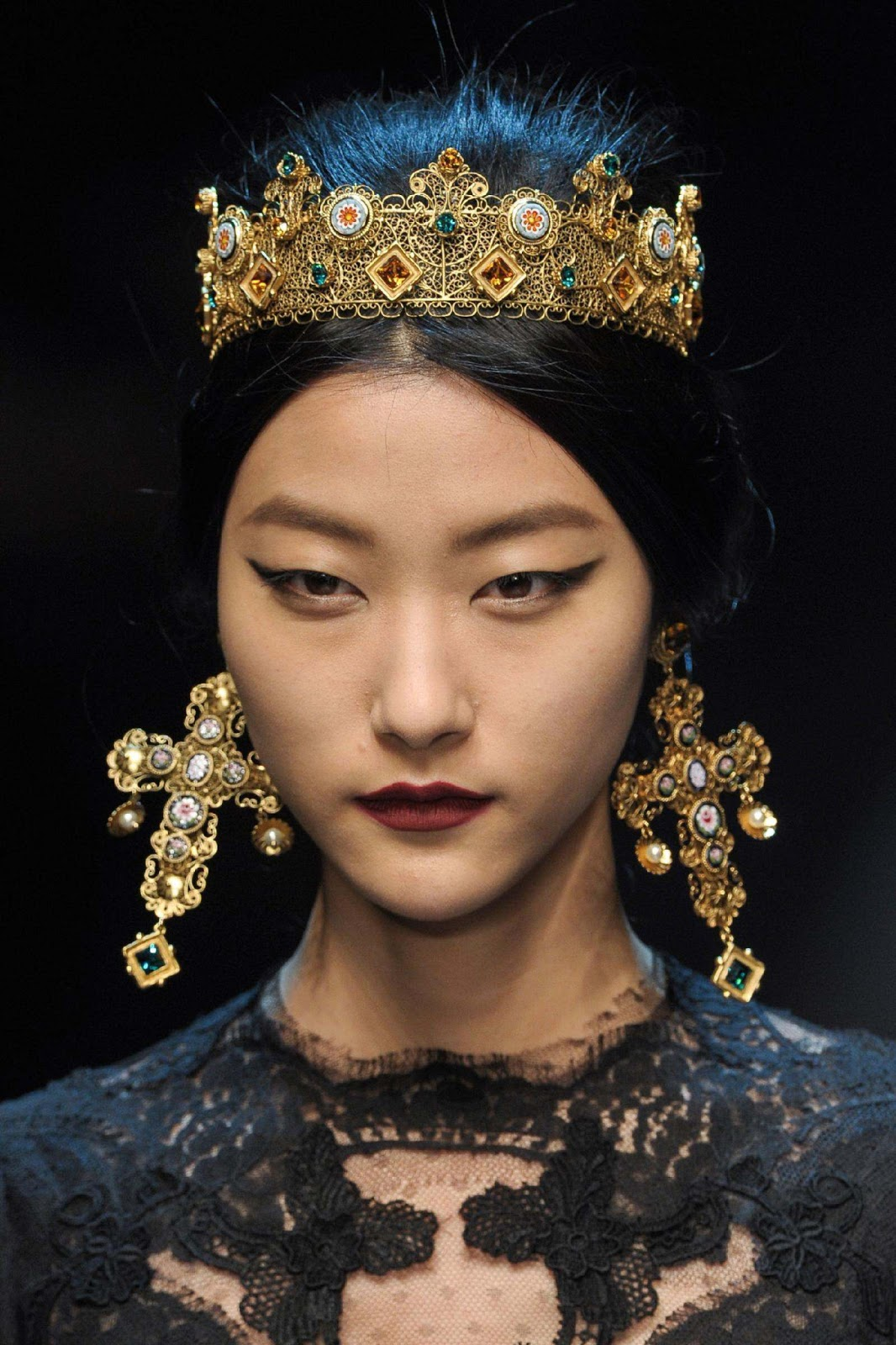 Dolce and Gabbana Crown and Jewls
