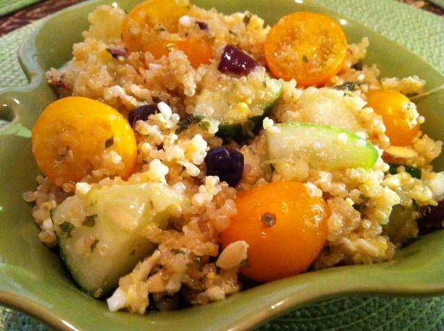NomEatNomQuinoa Egg Salad with Honey-Lime Dressing