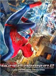 O Espetacular Homem Aranha 2 A Ameaca de Electro WEBRip RMVB Dublado + AVI Dual Áudio + 720p