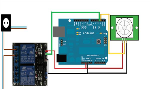 At mo production saklar otomatis menggunakan arduino uno