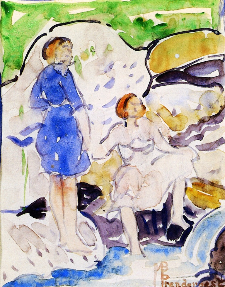 Maurice Prendergast - milk  - ☆ Milk ☆ 平平。淡淡。也是真。