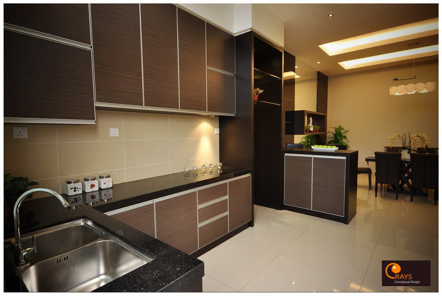 A Stainless Steel Feature Wall On The Does Perfect Tough Up Interiormaking It More Stylish Sophisticated And Contemporary