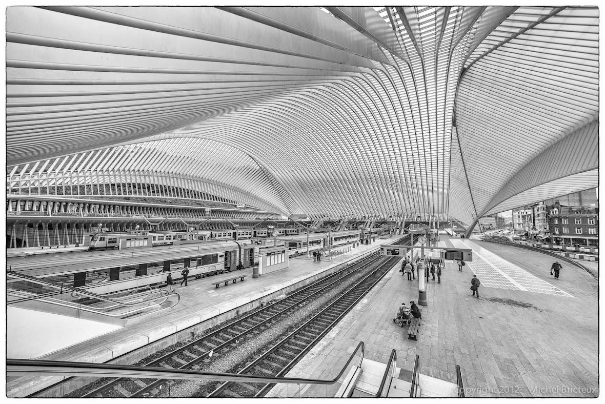 Railway Station - Liège-Guillemins
