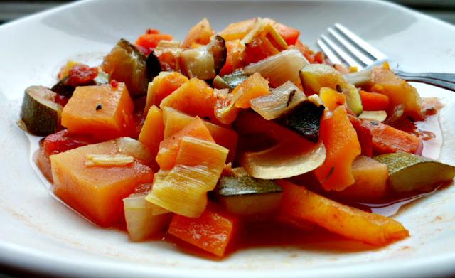 5:2 diet vegetable casserole