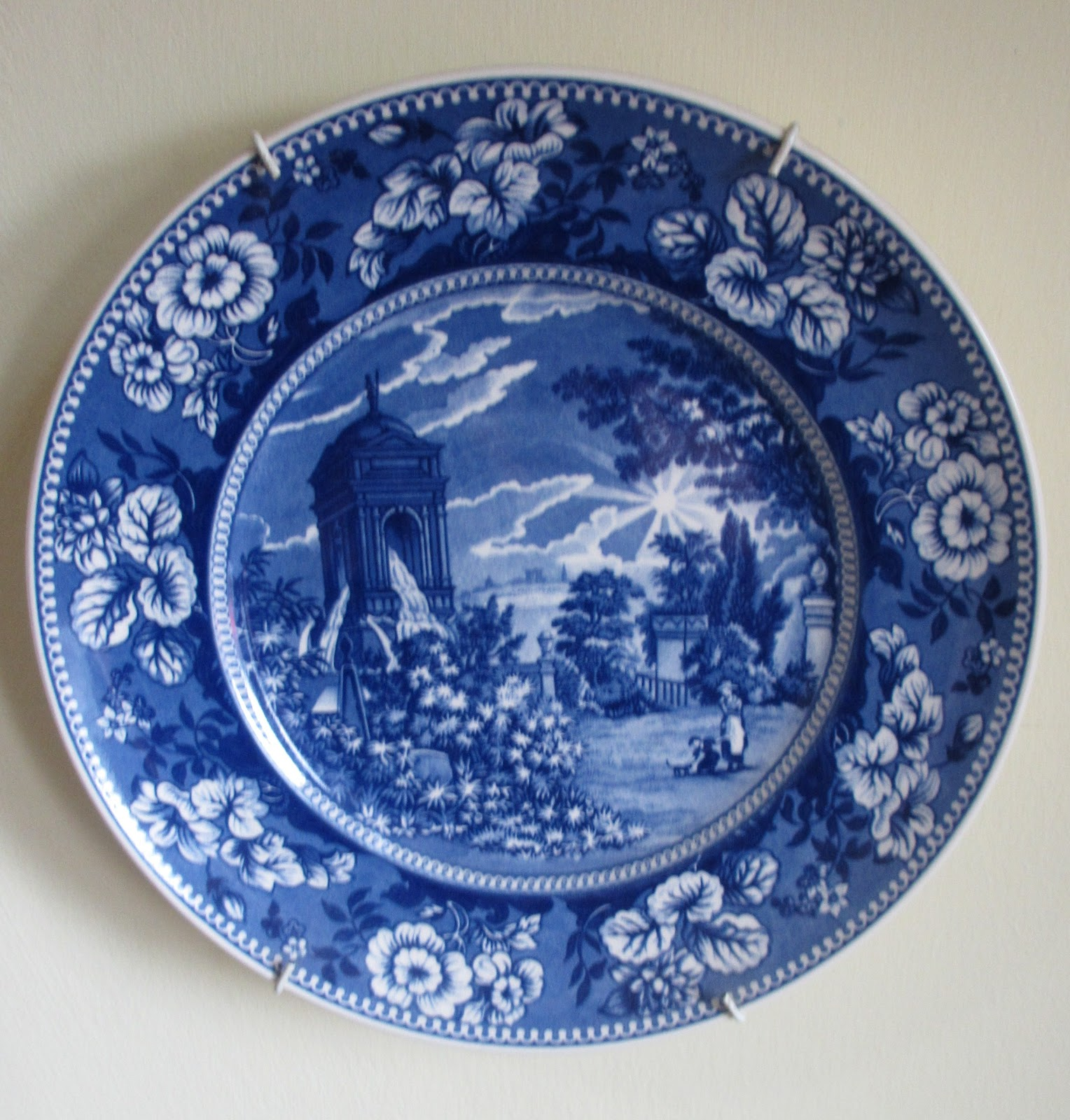 Blue And White Plates Classy With This is
