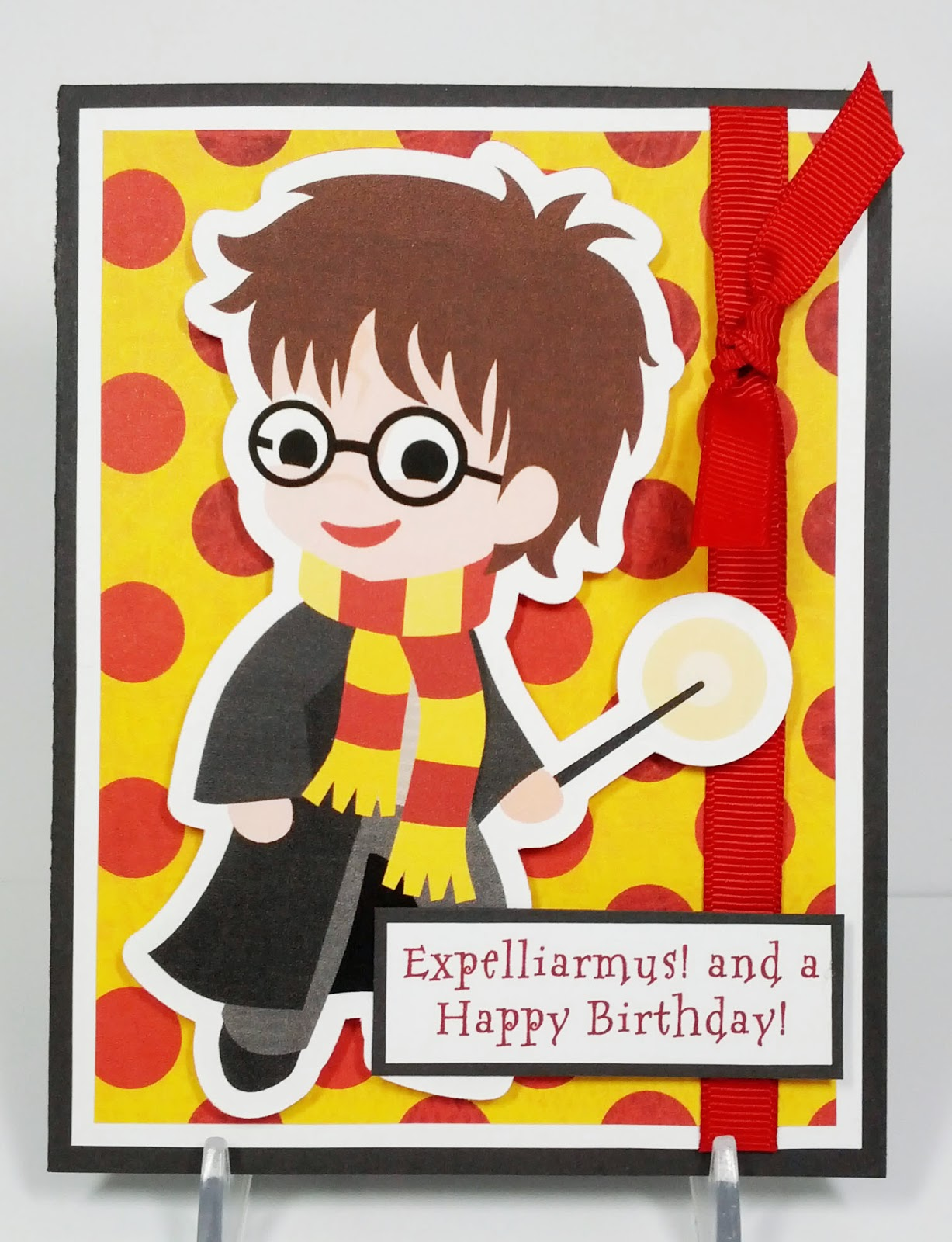 Simply Pam Harry Potter Birthday Card Gift Box