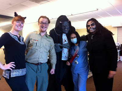 GotPrint staff dressed in halloween costumes