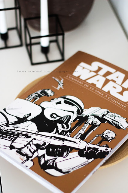 Star Wars Comic Buch zum ausmalen,hechtete-pratique