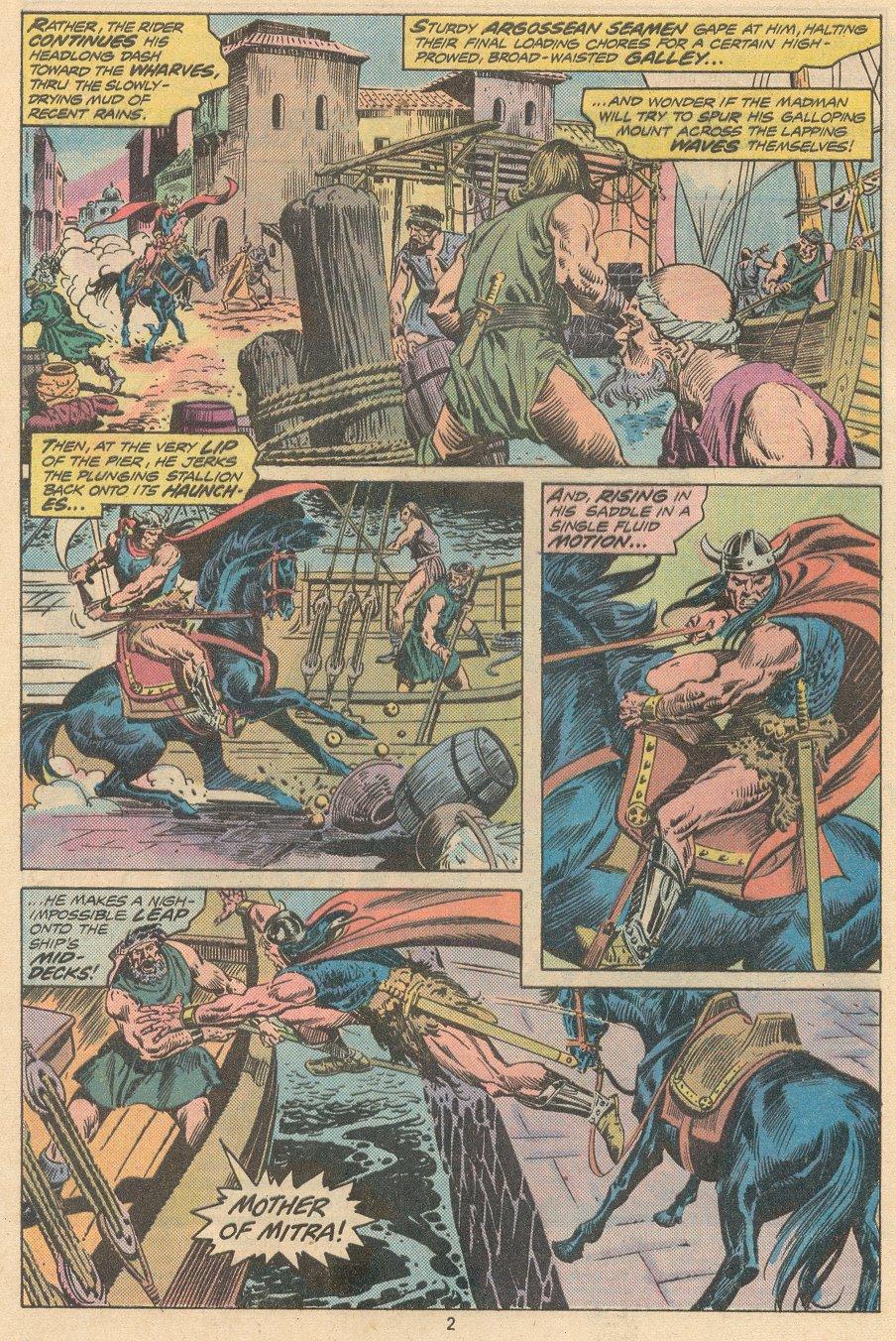 Conan the Barbarian (1970) Issue #58 #70 - English 3