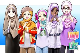 Koleksi Lengkap Gambar Kartun Animasi Muslim