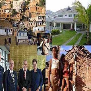 Pobre Brasil faraônico